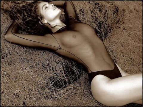 fille belle nu photo femme sein nu