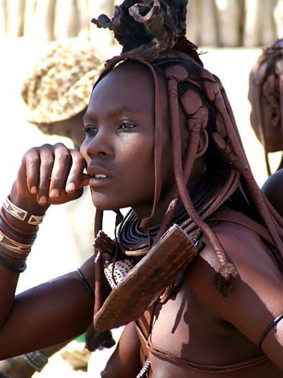 Belle femme  africaine