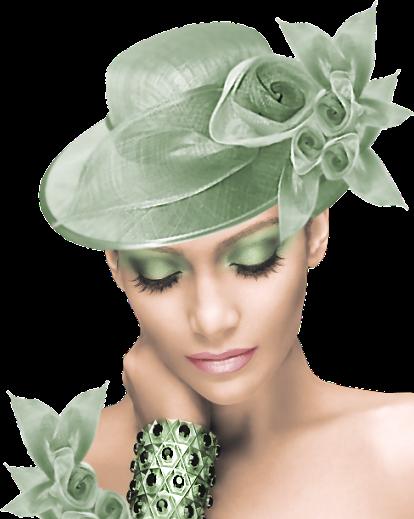 en vert